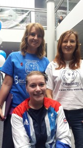 Headway Triathlon (Kelly Hutton, Sue Kennaway and Justine Moore at front) sml