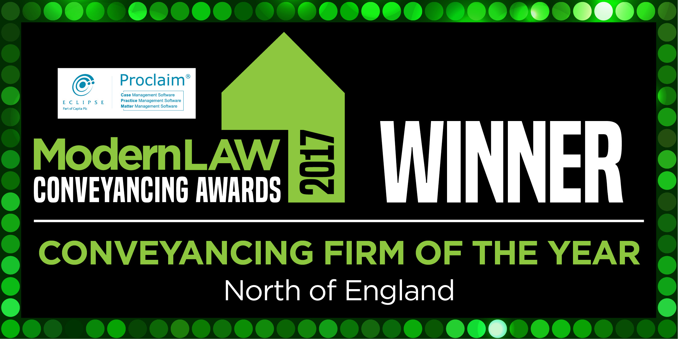 Birchall Blackburn Law become Modern Law Conveyancing Winners