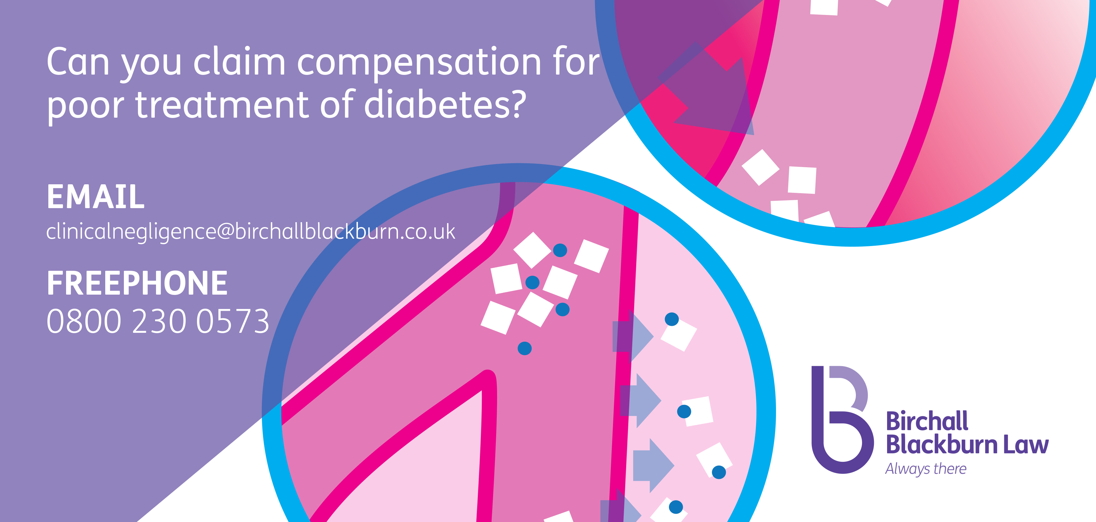 Could you claim compensation for poor treatment of diabetes? Speak to Birchall Blackburn Law about medical negligence.