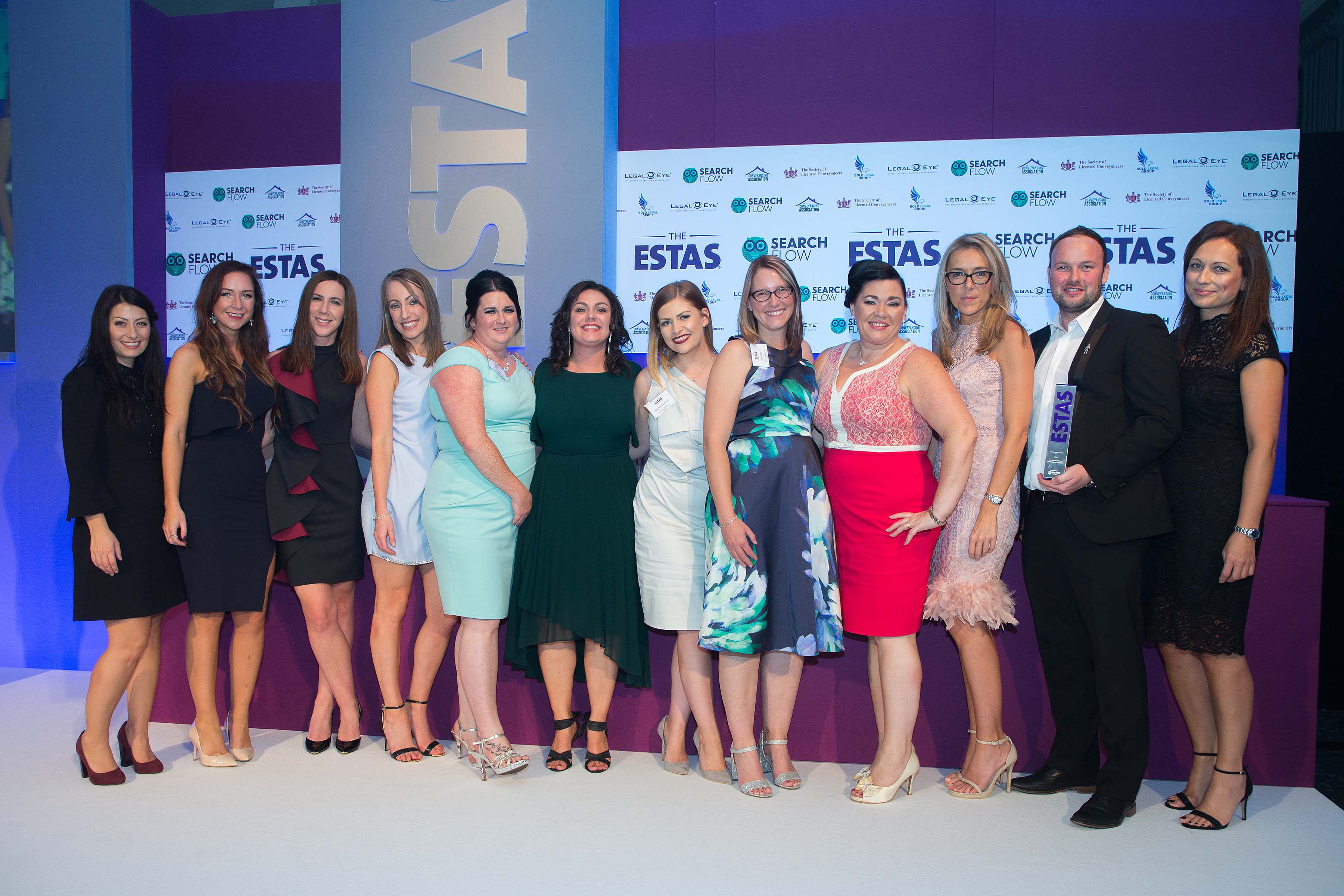 Birchall Blackburn Law took home a total of 11 awards at The ESTAS 2017