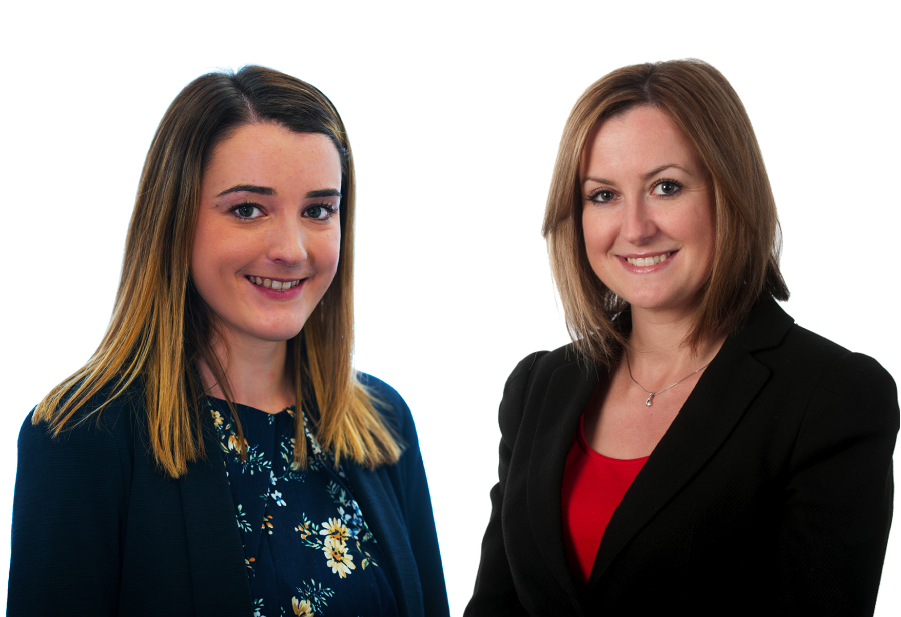 Amy Worthington and Amanda Long celebrate success at Birchall Blackburn Law
