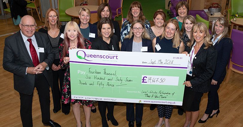 Queenscourt Hospice Wills Month Birchall Blackburn Law April