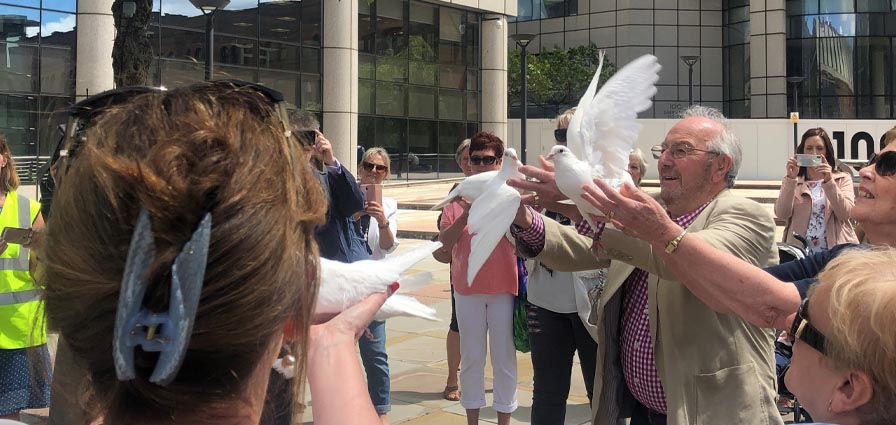 Action Mesothelioma Day Manchester | Birchall Blackburn Law | Dove Release