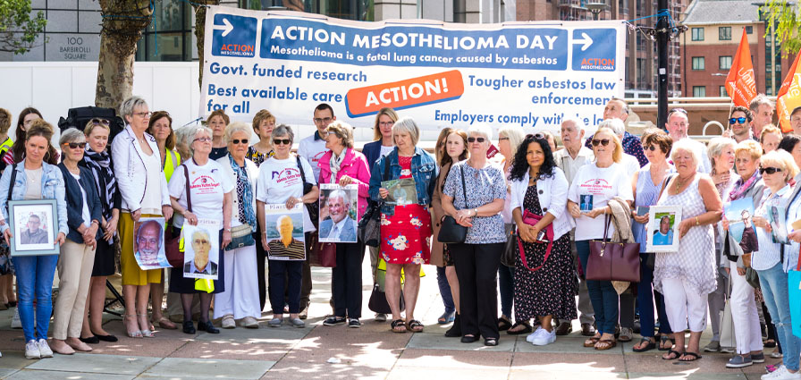 Action Mesothelioma Day 2019 Manchester Birchall Blackburn Law