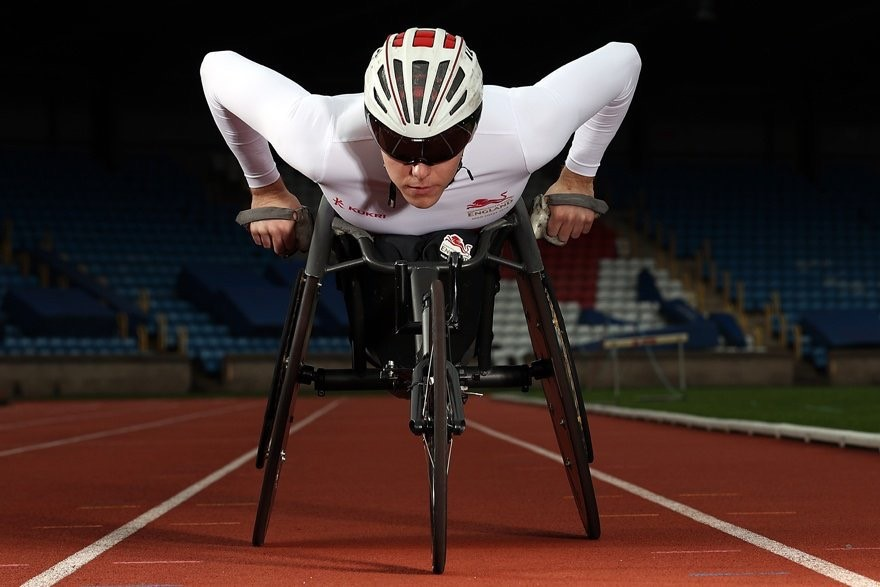 Wheelchair racer Nathan Maguire
