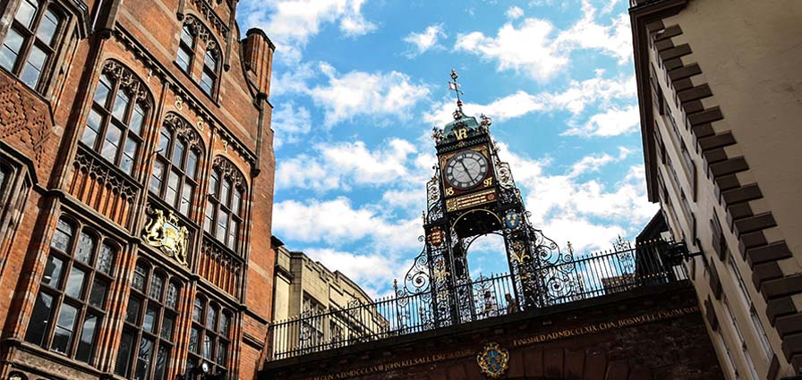 Moving to Chester Eastgate clock solicitors conveyancing