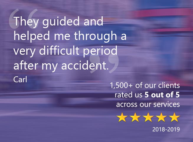 Road Traffic Collision Accident Reviews Testimonials